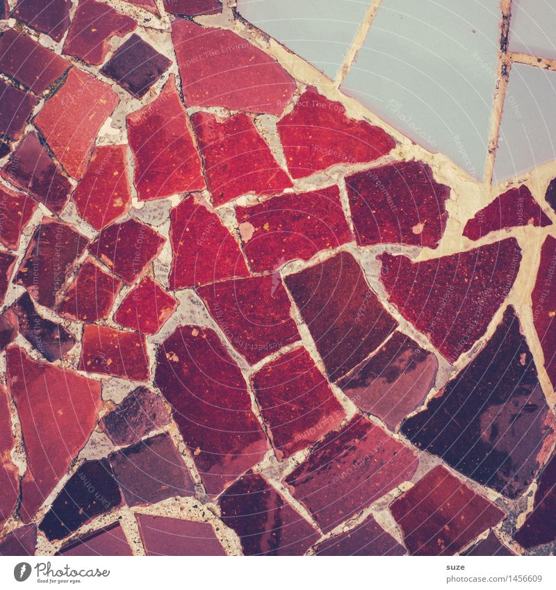 Feuerstelle Stil Design Handarbeit Innenarchitektur Dekoration & Verzierung Kunst Kunstwerk Architektur Sammlung Stein alt ästhetisch eckig historisch