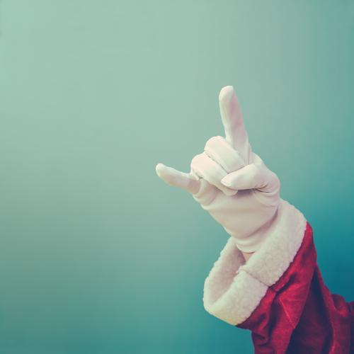 Keep cool Stil Design Feste & Feiern Weihnachten & Advent maskulin Arme Hand Bekleidung Arbeitsbekleidung Handschuhe Zeichen Coolness einfach lustig trashig