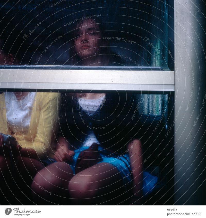 SIE Filmmaterial Rutsche Porträt Paris Jugendliche Trauer Verzweiflung 6x6 Yashicamat Mode