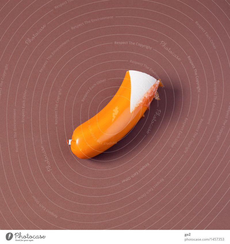 Schinken-Fleischwurst Essen Lebensmittel braun Ernährung ästhetisch genießen einfach lecker Wurstwaren Koch Metzger