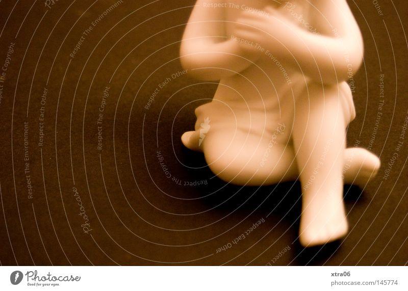 kopfloser glaube Engel Gebet Skulptur Figur Porzellan Tragfläche Weihnachtsdekoration weiß Arme Weihnachtsfigur Angelrute Religion & Glaube Trauer Beerdigung
