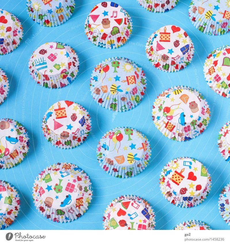 Kindergeburtstag blau Farbe Freude Feste & Feiern Lebensmittel Party Design Dekoration & Verzierung Geburtstag Fröhlichkeit Ernährung ästhetisch Kreativität Herz Lebensfreude Geschenk