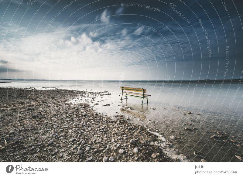 Fußbad Himmel Natur Sonne Landschaft Umwelt Gefühle See Stimmung Luft Schönes Wetter Seeufer gut diszipliniert