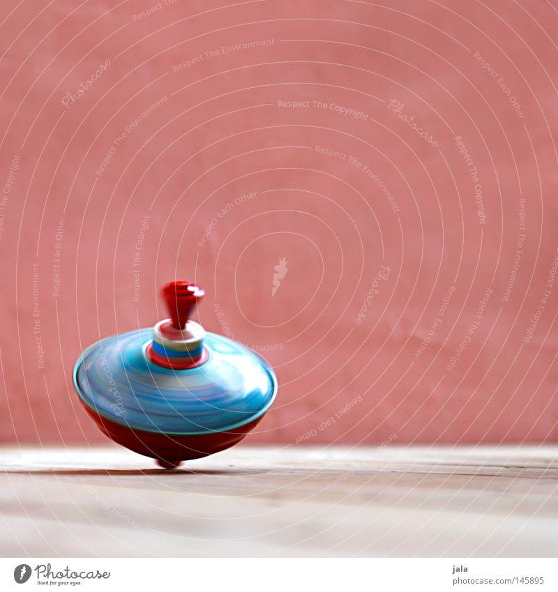 colors in motion Freizeit & Hobby Spielen Tanzen Spielzeug Kitsch Krimskrams Bewegung drehen Geschwindigkeit rosa rot Farbe Drehung Kreisel Farbfoto