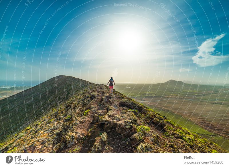 Tanz auf dem Vulkan Freizeit & Hobby Ferien & Urlaub & Reisen Tourismus Ausflug Abenteuer Ferne Freiheit Expedition Sommerurlaub Berge u. Gebirge wandern