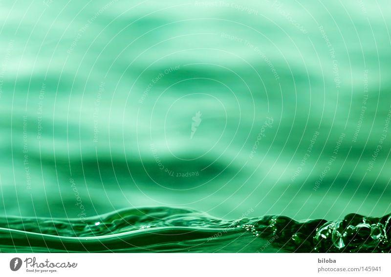 """Bil-Wasser II _ """"Die grüne Welle"""" Himmel Natur blau Einsamkeit ruhig kalt Leben Gefühle Hintergrundbild See Stein Erde Zufriedenheit Wetter Luft"""