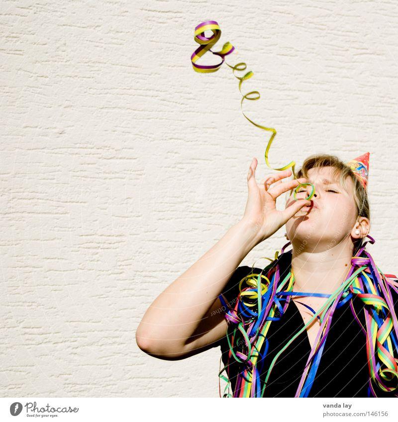 ...von Blankenese... Frau Mensch Jubiläum Freude Leben Party Musik Feste & Feiern blond Geburtstag Kreis Silvester u. Neujahr Dekoration & Verzierung gut Maske