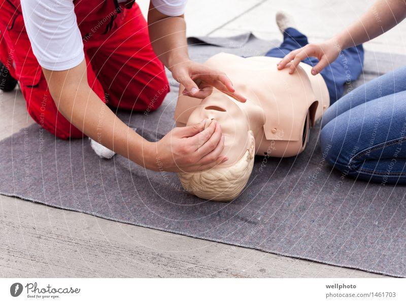 CPR-Training Krankheit Leben Schule Arzt Mensch Arme Hand Beine 2 30-45 Jahre Erwachsene Puppe Arbeit & Erwerbstätigkeit atmen rennen lernen Schutz