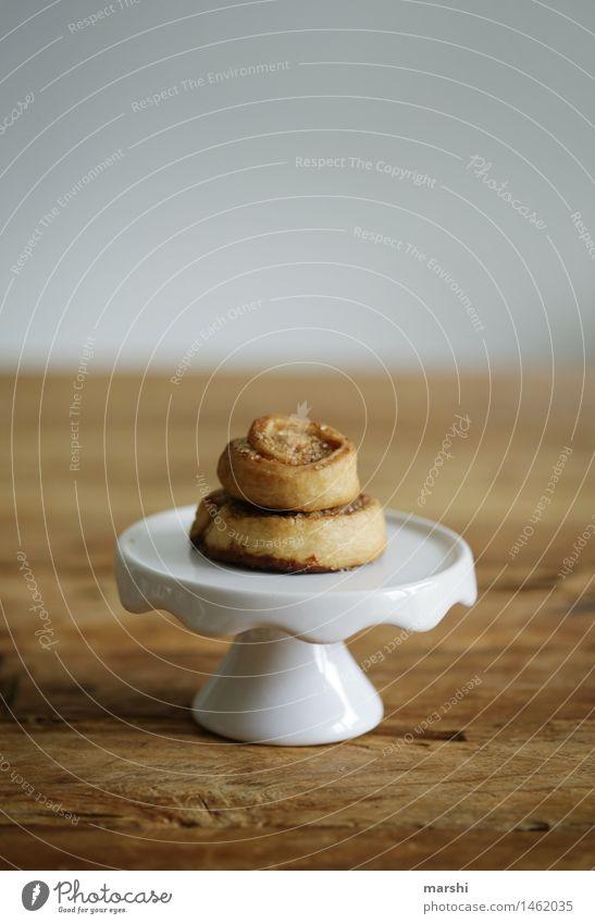 Mini-Zimtschnecken Lebensmittel Dessert Süßwaren Ernährung Essen Stimmung zimtschnecken Kellnern klein lecker Geschmackssinn geschmackvoll Zucker Farbfoto