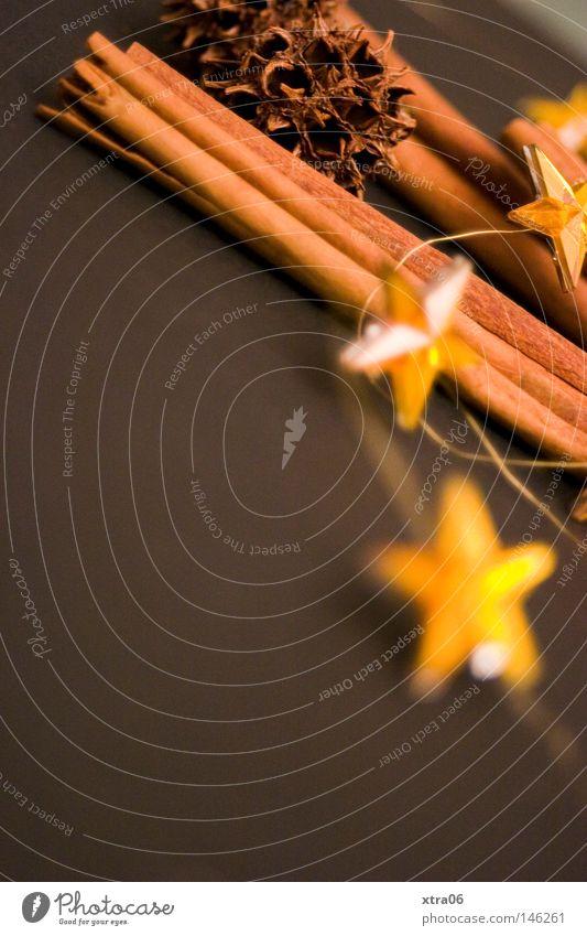 deko Weihnachten & Advent Kräuter & Gewürze Stern (Symbol) Dekoration & Verzierung Kreativität verschönern Weihnachtsdekoration Zimt