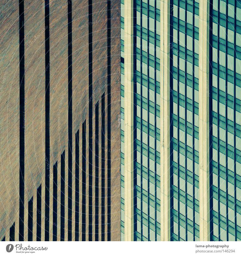 STRUCTURES Linie Ordnung Quadrat Teilung Grafik u. Illustration Geometrie Hälfte Glätte graphisch Symmetrie Rechteck perfekt Teile u. Stücke Statistik