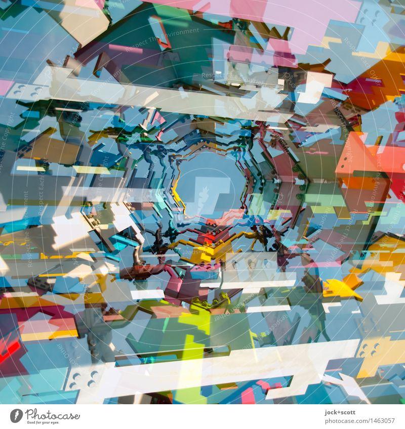 #MixI Stil Metall Design modern ästhetisch Fröhlichkeit Perspektive Kreativität hoch Netzwerk viele Leidenschaft Wolkenloser Himmel trendy Irritation