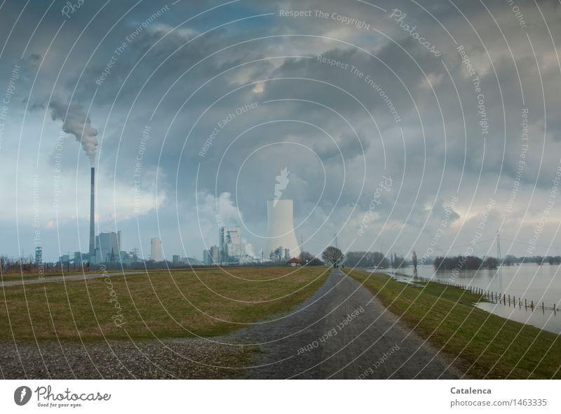 Wetterfabrik Wasser Baum Landschaft Wolken Umwelt Wiese Feld Energiewirtschaft Luft wandern Technik & Technologie Ausflug Kirche Industrie Urelemente Feuer