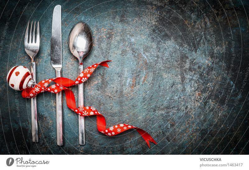 Tischdeko für Weihnachten Weihnachten & Advent Haus Stil Hintergrundbild Feste & Feiern Party Design Dekoration & Verzierung Ernährung Veranstaltung Restaurant