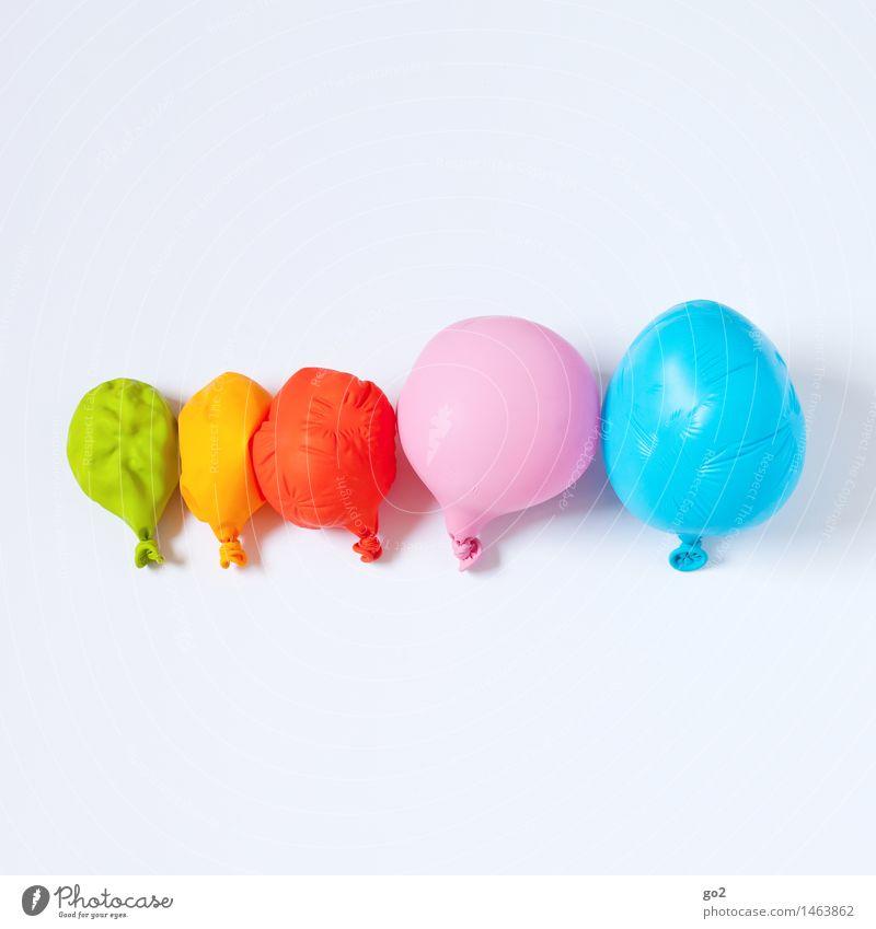 Party is over alt Farbe Freude Feste & Feiern Wachstum Dekoration & Verzierung Geburtstag Fröhlichkeit ästhetisch einfach Vergänglichkeit Luftballon