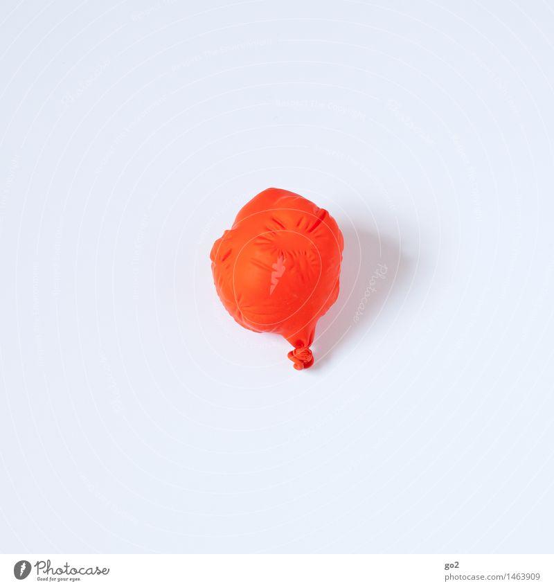 Der Tag danach Freude Veranstaltung Feste & Feiern Karneval Silvester u. Neujahr Jahrmarkt Geburtstag Dekoration & Verzierung Luftballon ästhetisch einfach rot