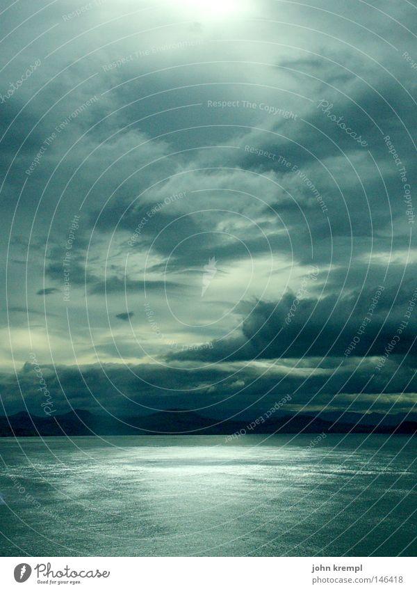 royal albatross colony Wasser Himmel Meer grün blau Strand Wolken dunkel Küste bedrohlich Bucht Gewitter Neuseeland Apokalypse Sonnenuntergang Königlich