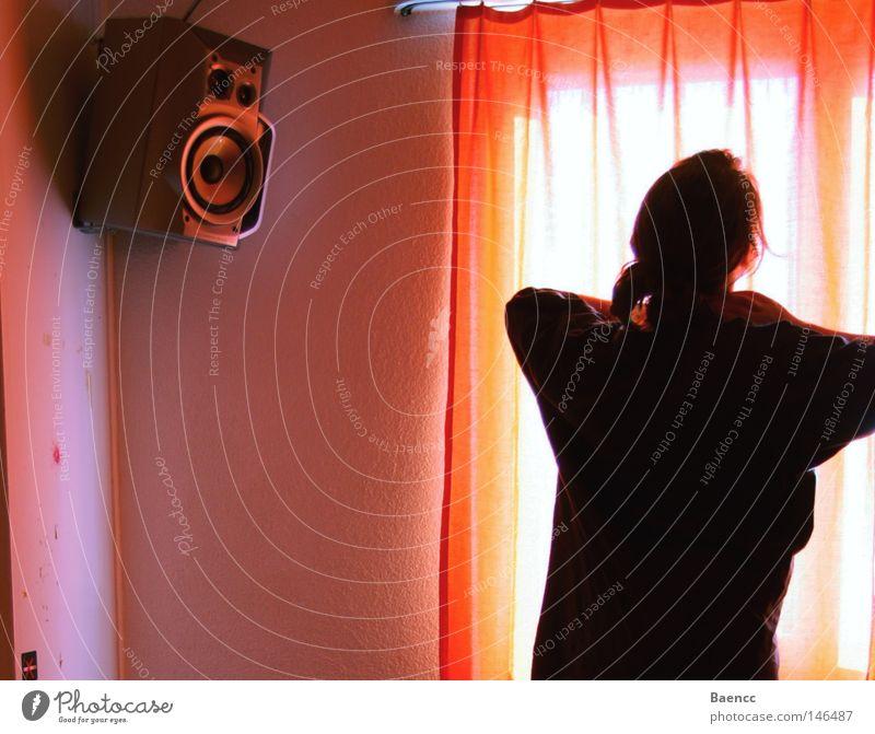 good morning music, good morning sun ruhig Farbe Erholung Musik Raum Kraft Morgen Vorhang