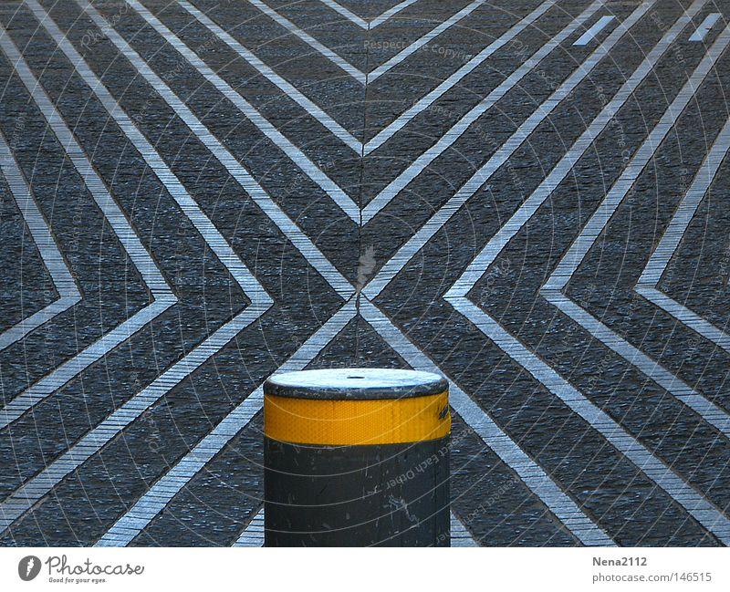 No X-it gelb Straße Frankreich Barriere Straßennamenschild bordeaux