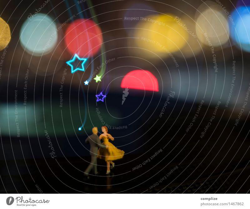 Meine kleine Party Weihnachten & Advent Freude Liebe Glück Feste & Feiern Paar Zusammensein träumen glänzend Freizeit & Hobby Musik Tanzen Hochzeit