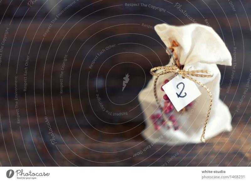 Zweiter Handarbeit Feste & Feiern Dekoration & Verzierung 2 Zweite Reihe Adventskalender Weihnachten & Advent Sack Gold Zweige u. Äste Geschenk Anti-Weihnachten