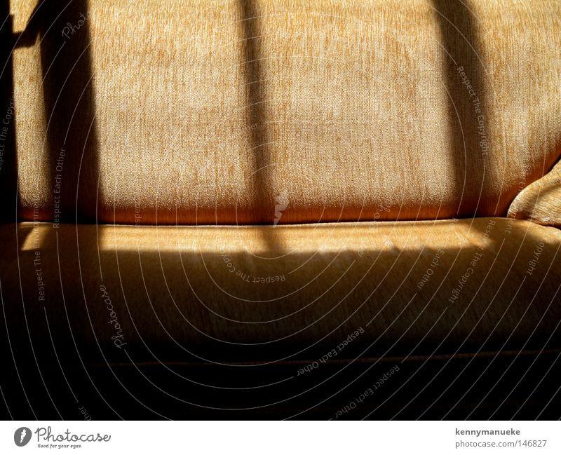 Sofa Lichterscheinung Rochen Orange Fenster Säge Liege Dekoration & Verzierung Linien Sitz