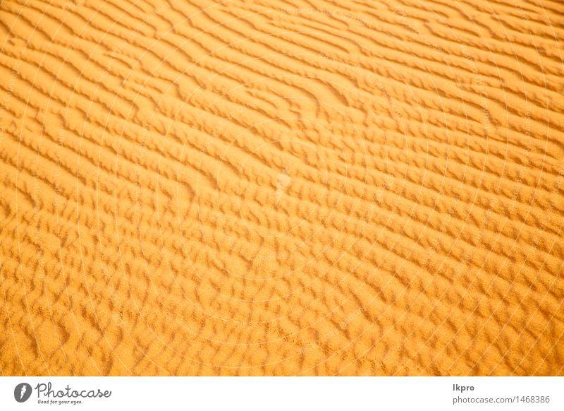 Natur Ferien & Urlaub & Reisen schön Landschaft Einsamkeit gelb braun Sand Idylle Schönes Wetter Hügel heiß Afrika Düne Urwald Tapete