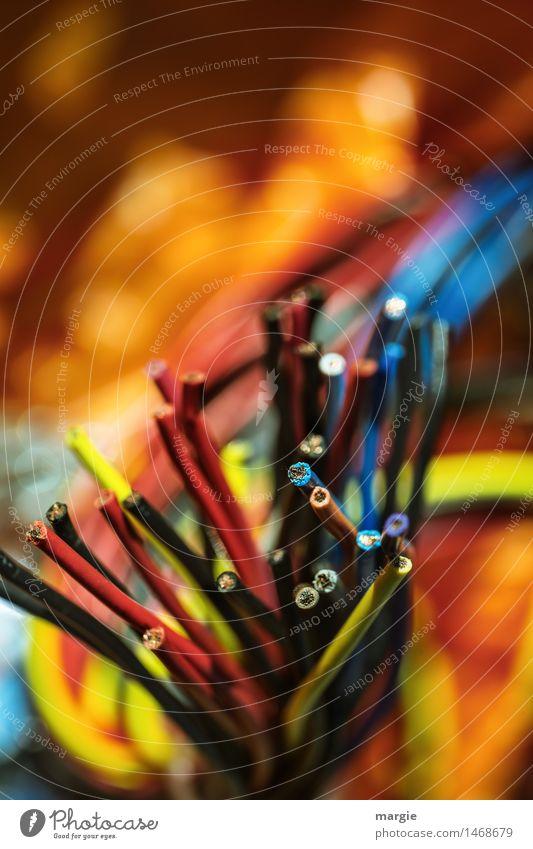 Happy New Year! blau gelb orange Technik & Technologie Computer Telekommunikation Kabel Internet Wissenschaften Informationstechnologie Notebook Feuerwerk