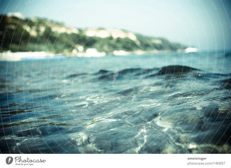 noch was fürs urlaubsalbum Sommer Sonne Strand Meer Wellen Wasser Schönes Wetter Küste nass Erholung Idylle Griechenland Mittelmeer Badeurlaub mediteran