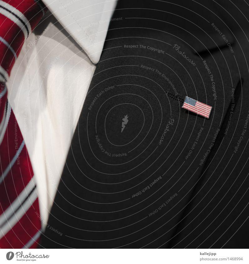 barack Mensch Mann Erwachsene Business maskulin elegant Sauberkeit Macht Symbole & Metaphern USA Beruf Fahne Geldinstitut Wirtschaft Jacke Hemd