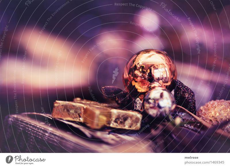 purple goldn elegant Stil Design Weihnachten & Advent Weihnachtsdekoration Christbaumkugel Baumschmuck Holzstern Dekoration & Verzierung Geschenksband Unschärfe