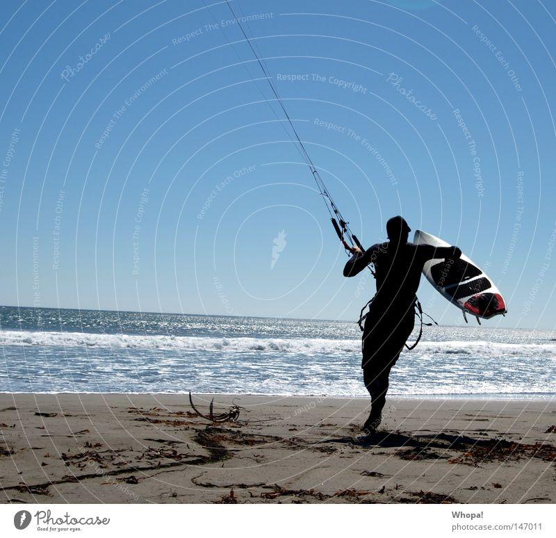 CALIFORNIA L-O-V-E - V Surfen Küste USA Surfer Kiting Kalifornien Pazifik
