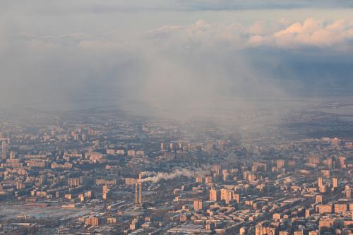 Mein Sofia Himmel Stadt Haus Umwelt Architektur Hochhaus Klima Skyline Hauptstadt Stadtzentrum Umweltschutz Handel Klimawandel Umweltverschmutzung