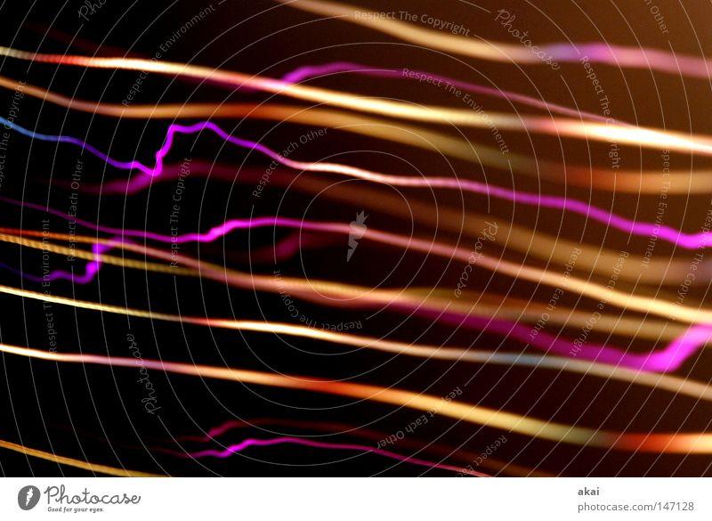 Lichtwelten2 Ufolampe Fernsehlampe Belichtung UFO Lichtspiel Langzeitbelichtung Experiment Streifen Glasfaser Studie schön streifenlicht fernsehlicht
