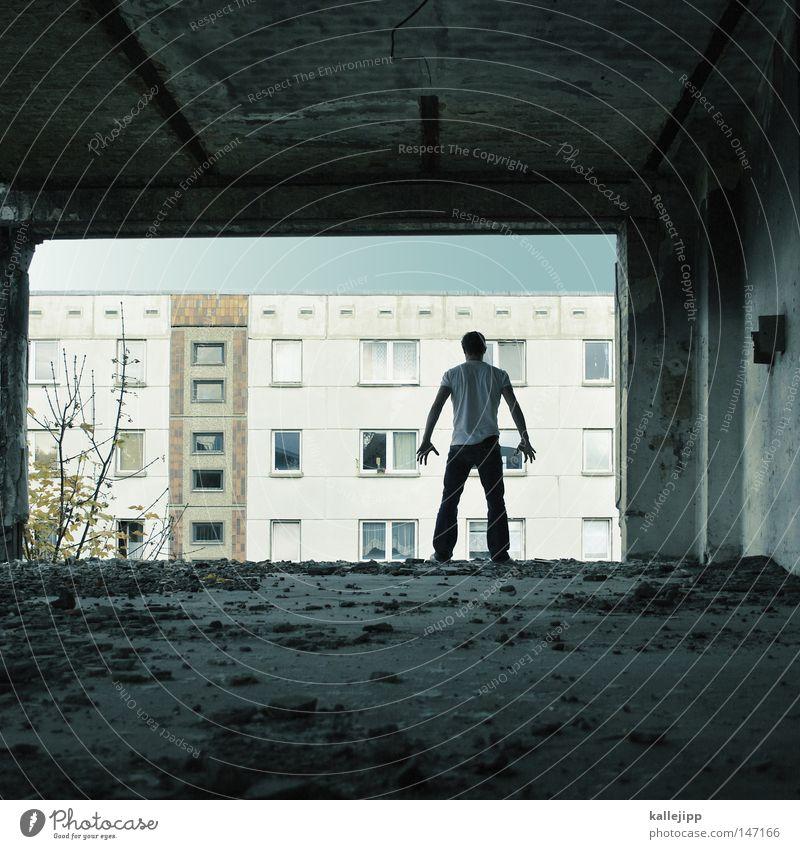 das leben der anderen Mensch Himmel Mann Hand Stadt Haus Fenster Berge u. Gebirge Gefühle Berlin Architektur springen See Luft Linie Tanzen