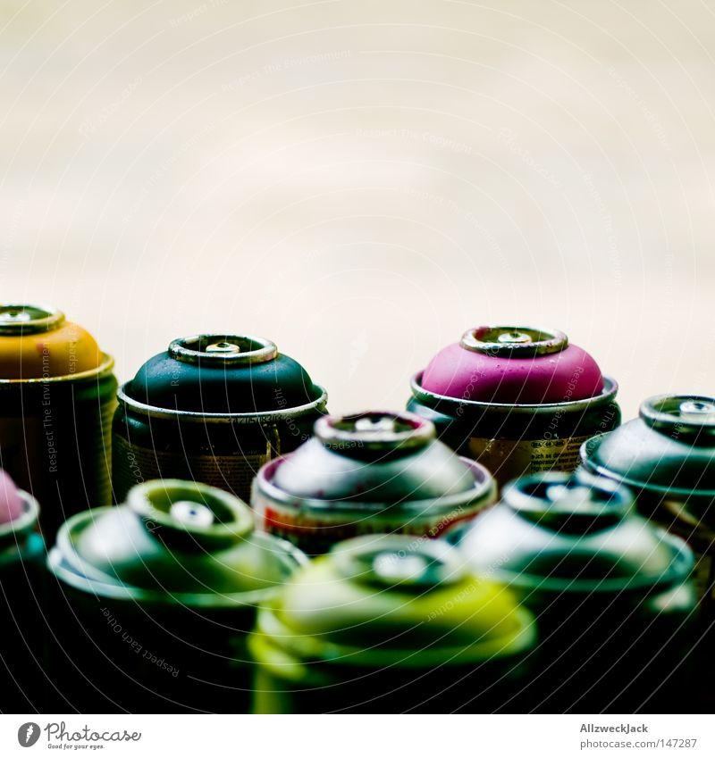 BLN08 | yes, i CAN! Farbe Farbstoff Dose Graffiti Kunst streichen Handwerk Gemälde Spray sprühen Straßenkunst Farben und Lacke Wandmalereien Farbdose Sprühdose