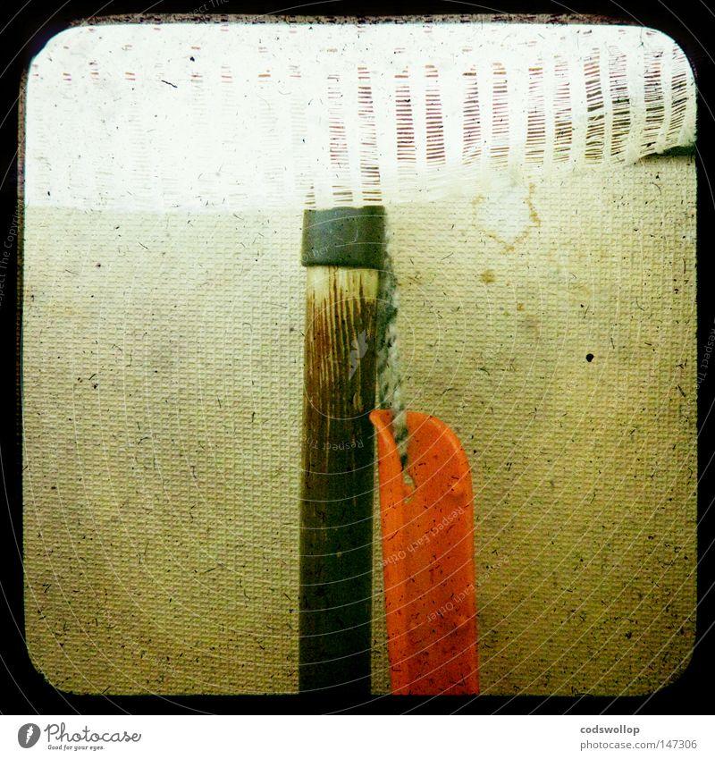 pelle et balayette Besen Haushalt Kammer Besenkammer Frühjahrsputz Dienstleistungsgewerbe Handwerk curtain brush and dustpan handschaufel scheibengardine