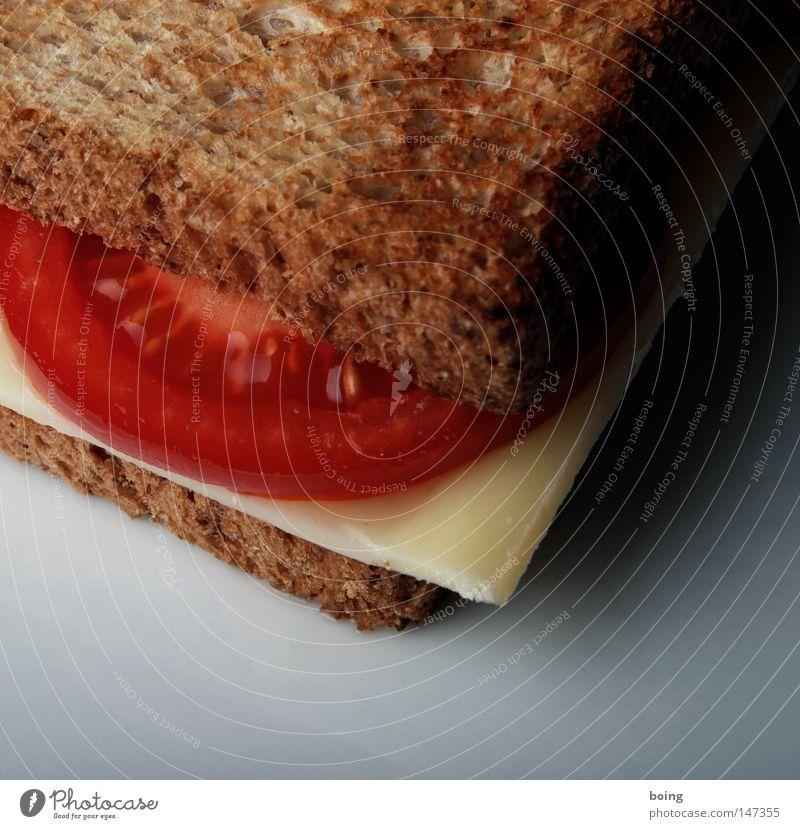 Toast KT Frühstück Brot Abendessen Tomate Käse Qualität Vesper Snack Belegtes Brot Milcherzeugnisse Toastbrot Speise Proviant knusprig Schnittkäse Emmentaler