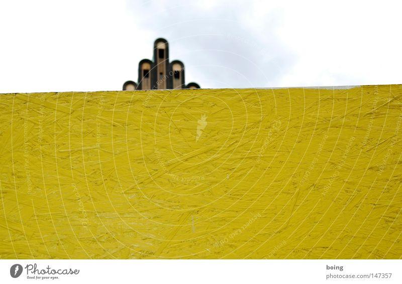 stern Hand gelb Wand Architektur Deutschland Finger Studium Mensch Barriere Hände schütteln Krone Ehe Hessen Zaun Detailaufnahme Mittelfinger