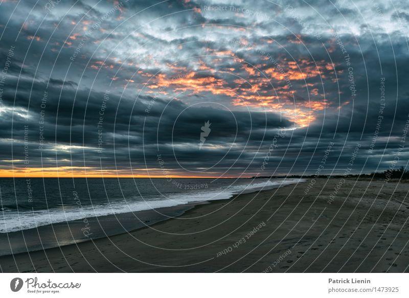 Winter in Rhode Island schön Ferien & Urlaub & Reisen Abenteuer Freiheit Sonne Strand Meer Wellen Natur Landschaft Sand Himmel Wolken Wetter Park Küste träumen