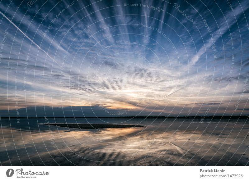 Seascape in Rhode Island Himmel Natur Ferien & Urlaub & Reisen schön Sonne Meer Landschaft Wolken Strand Leben Küste Freiheit Sand Park träumen Zufriedenheit