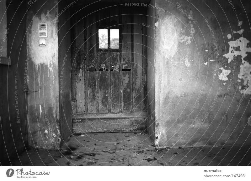 Sie haben Post. schön alt weiß schwarz Haus Farbe Fenster Holz grau Hund Park Gebäude Architektur Wohnung Tür Filmindustrie