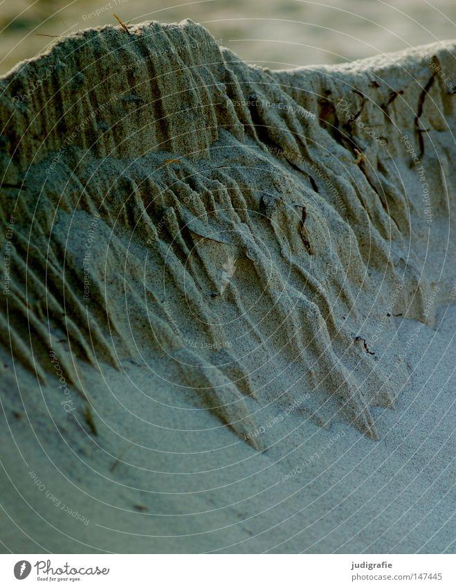Strandlandschaft Farbe Berge u. Gebirge Mauer Sand Küste klein groß Ostsee Schlucht Gletscher Darß Berghang Vulkankrater Weststrand