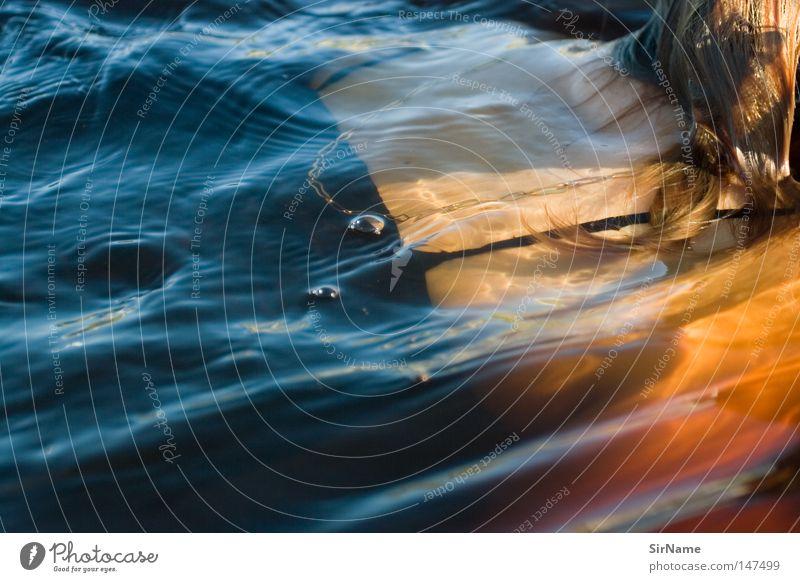 4 [nixe aus der nähe] Frau Jugendliche Ferien & Urlaub & Reisen Wasser rot Junge Frau Erwachsene Spielen Haare & Frisuren Schwimmen & Baden Freizeit & Hobby Rücken Vertrauen Leidenschaft Luftblase Nixe