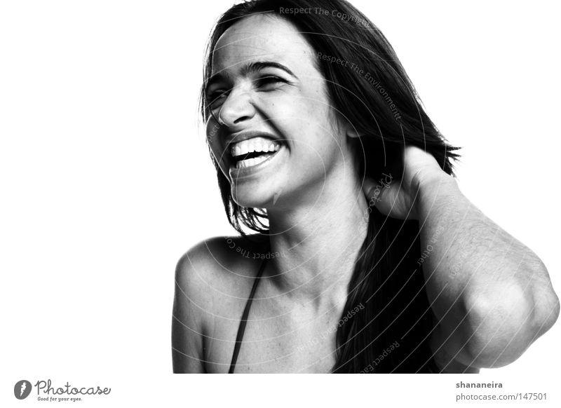 Nivea Smile Frau Mensch schön Freude feminin Gefühle Glück lachen Mund Kraft ästhetisch Zähne stark herzlich