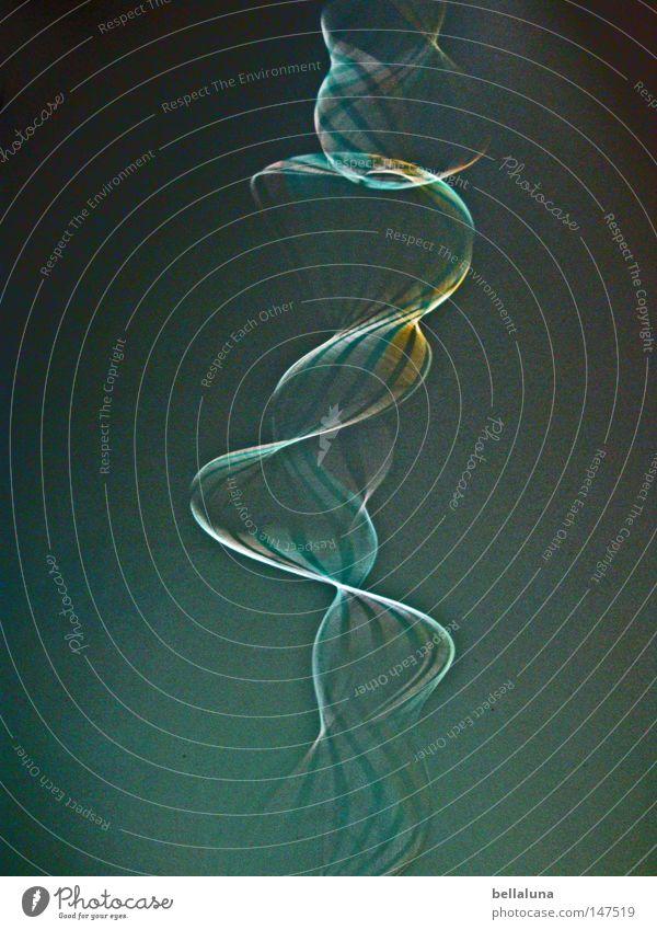 Schön, daß unser Auge zu langsam ist. Leben Bewegung Kunst Aktion Schnur Spirale schwingen Kunsthandwerk