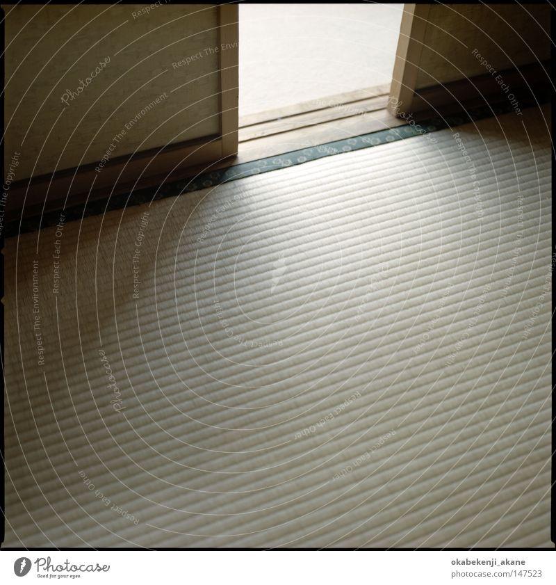 Tatami Japan Licht Lichterscheinung Schatten Tokyo Strukturen & Formen Nostalgie Blitzeffekt Strukturen und Formen Schererei