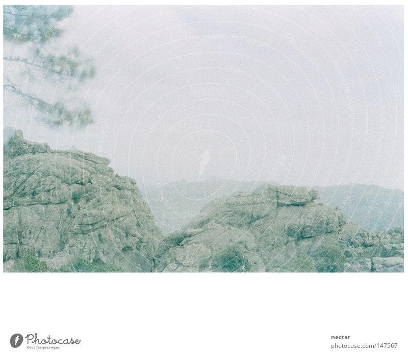 Green Rocks Licht Himmel Berge u. Gebirge Sommer Ferien & Urlaub & Reisen ruhig Frieden Zen Buddha Landschaft Landschaftsformen grün Kraft Konzentration Felsen