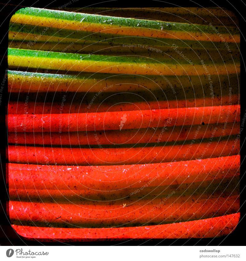 adernpaar gelb Industrie Elektrizität Technik & Technologie Kabel Handwerk live elektrisch Elektromonteur Elektrisches Gerät Standard