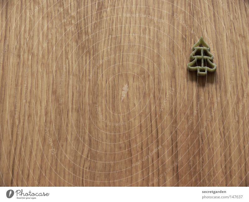 den wald vor lauter bäumen nicht sehen. Weihnachten & Advent grün schön Baum Einsamkeit Ernährung Schnee Holz Ordnung authentisch Schriftzeichen Tisch